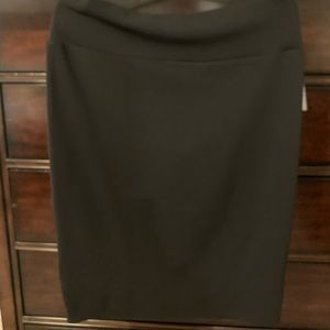 LuLaRoe Cassie Black XXL Pencil Skirt